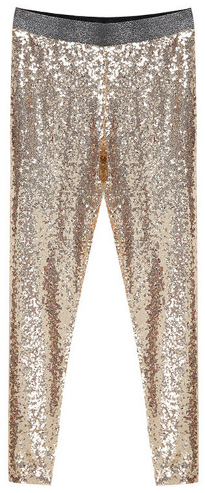 Women's Shining Pencil Pants