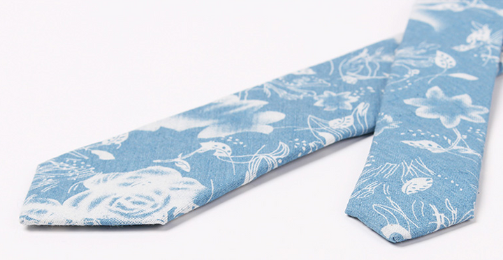 Tie – Men's Casual Denim Necktie | Zorket