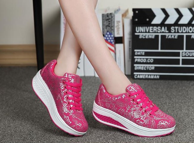 Women's Fashion Fitness Casual Shoes - Zorket