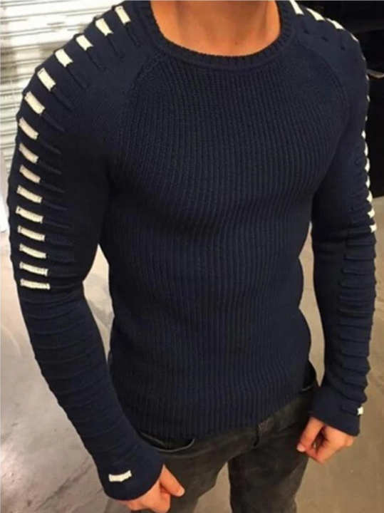 Men's Casual Knitted Sweater | Plus Size