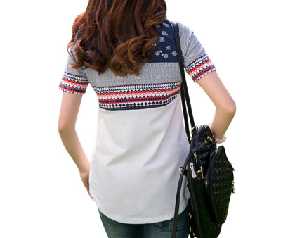 T-Shirt – Fashionable Female Cotton O-Neck T-Shirt | Zorket