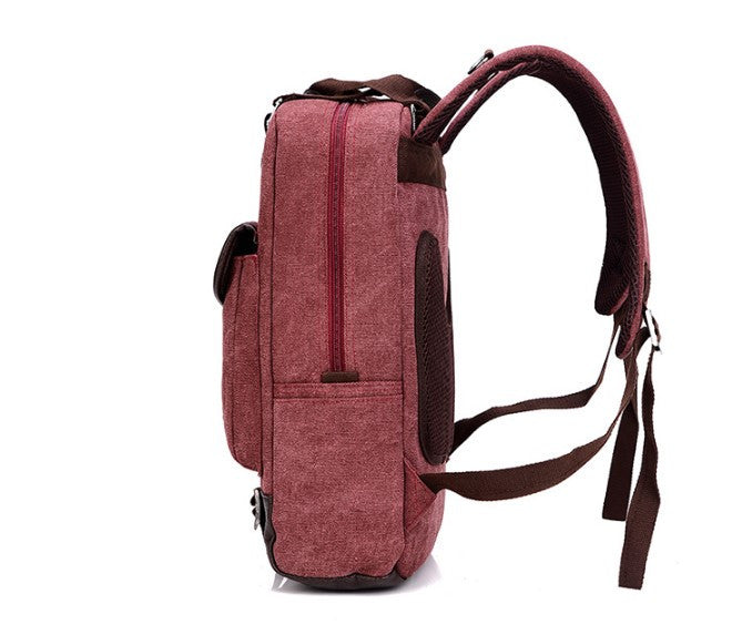 Backpack – Fashion Women's Canvas Laptop Backpack | Zorket