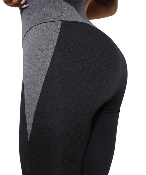 Women's Fitness High Waist Polyester Leggings