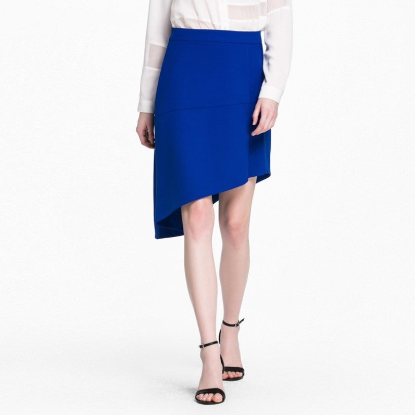 Women's Spring/Autumn A-Line Asymmetrical Skirt