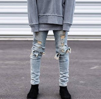 Jeans – Men's Skinny Stylish Casual Ripped Jeans | Zorket
