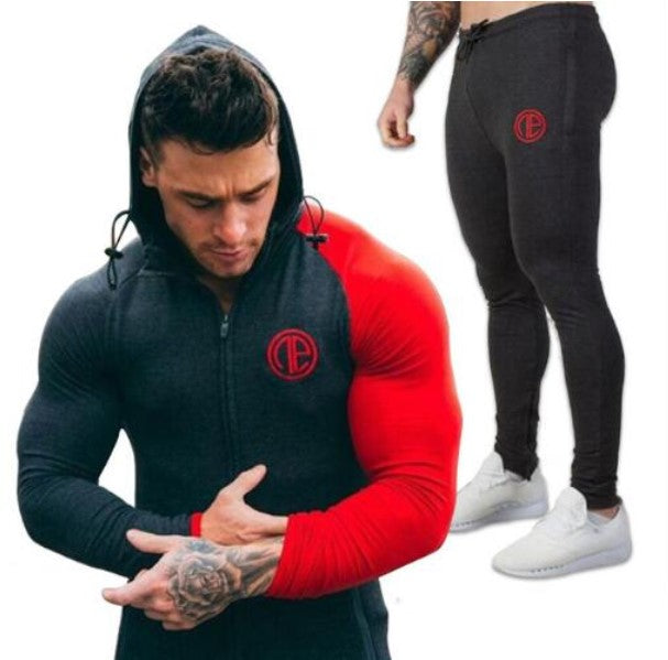 Men's Spring/Autumn Gym Tracksuit | Men's Fitness Outwear