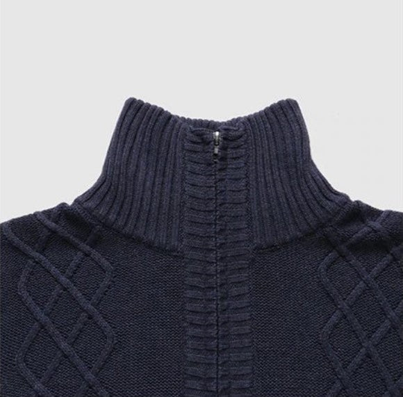 Men's Autumn/Winter Slim Fit Turtleneck Knitted Pullover