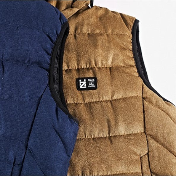 Men's Winter Casual Warm Hooded Vest | Men's Clothing