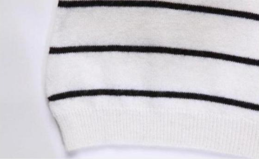 Pullover – Female Striped Pullover Of Cashmere | Zorket