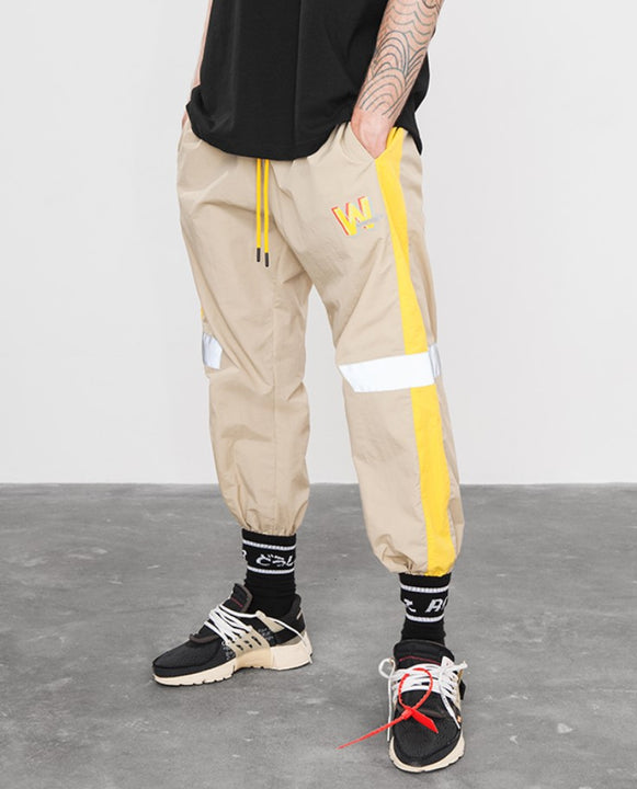 Men's Summer Joggers With Reflective Tapes