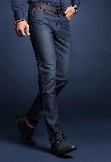 Summer Business Good Quality Solid Men Jeans - Zorket