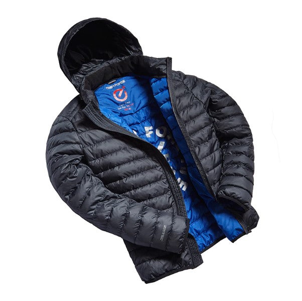 Men's Autumn Ultralight Cotton-Padded Jacket With Hidden Hood