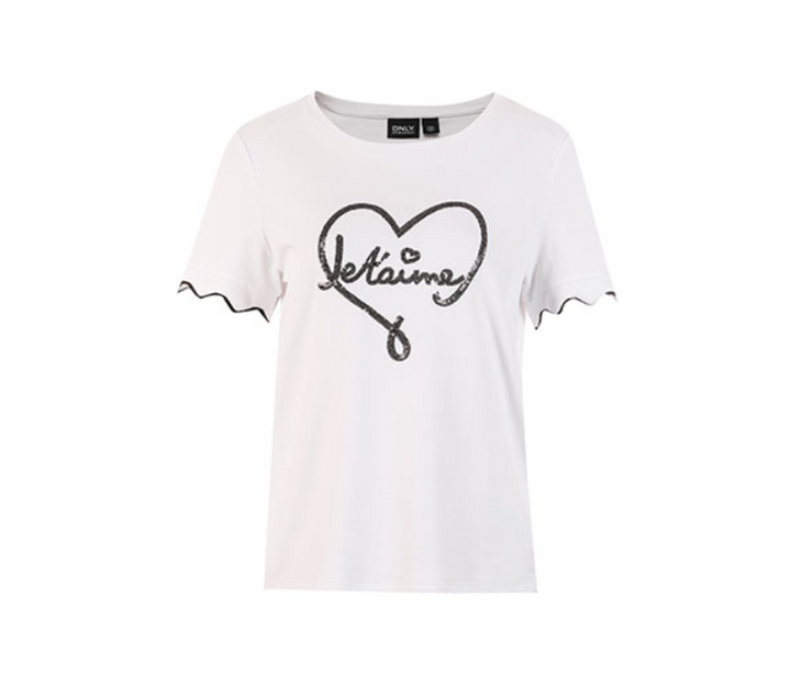 Women's Spring/Summer Cotton Round Neck T-Shirt