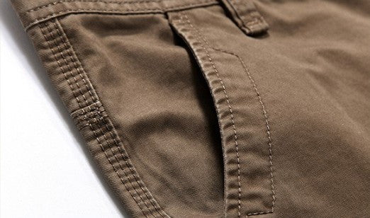 Cargo Pants – Men's Casual Cotton Loose Cargo Pants | Zorket