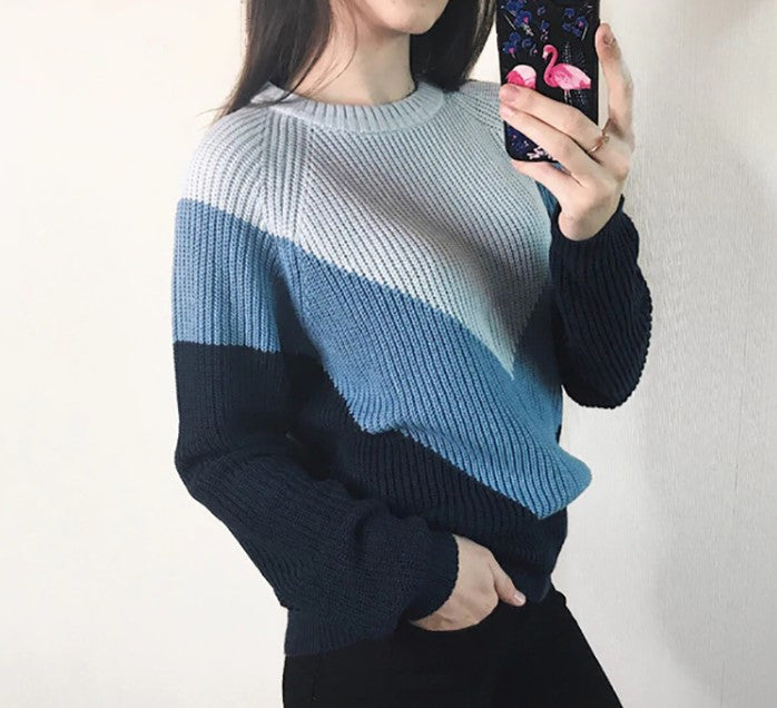 Women's Autumn/Winter Casual Soft Knitted Loose Pullover