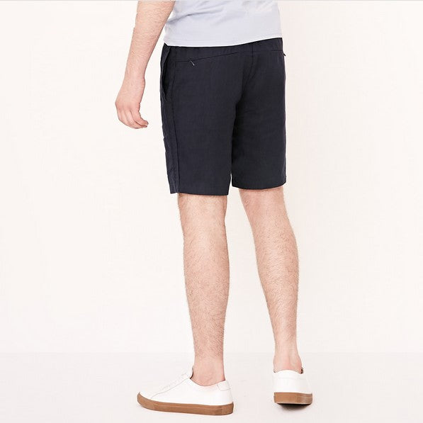 Men's Summer Linen Breathable Elastic Waist Shorts