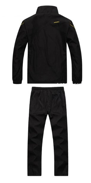 Men's Autumn/Winter Warm Quick Dry Loose Tracksuit
