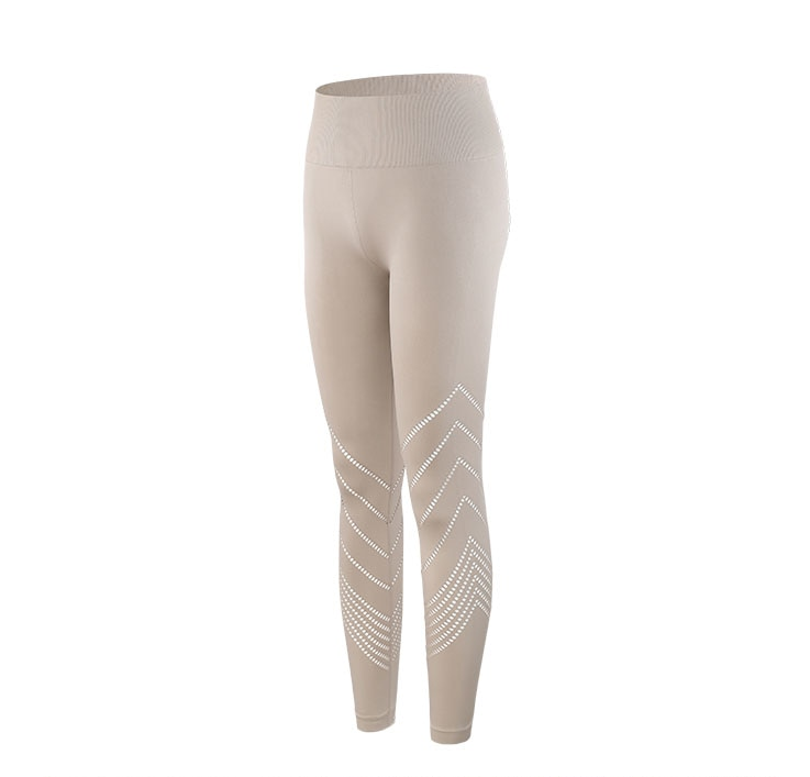 Women's Seamless High Waist Tight Fitting Leggings