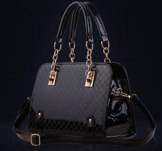 Women's PU Leather Luxury Handbag - Zorket