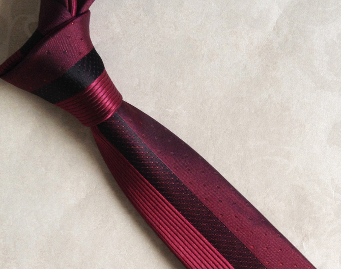 Men's Formal Striped Necktie - Zorket