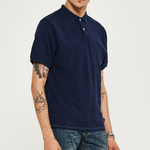Men's Solid Color Short Sleeve Polo - Zorket