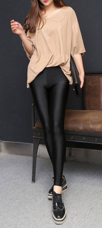 Women's Stylish Elastic Leggings - Zorket
