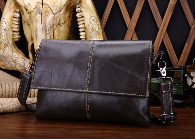 Crossbody Bag – Fashionable Vintage Genuine Leather Men's Crossbody Bag | Zorket