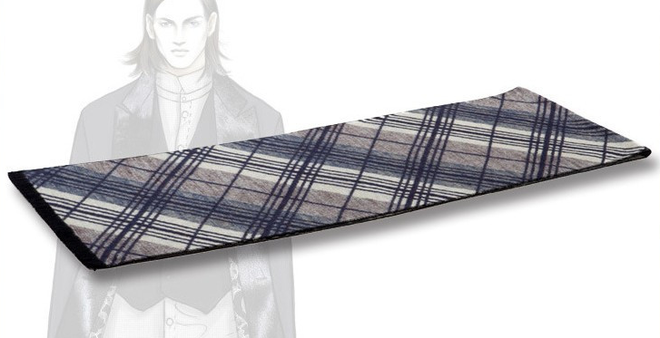 Winter Scarf With Classic Plaid For Men - Zorket