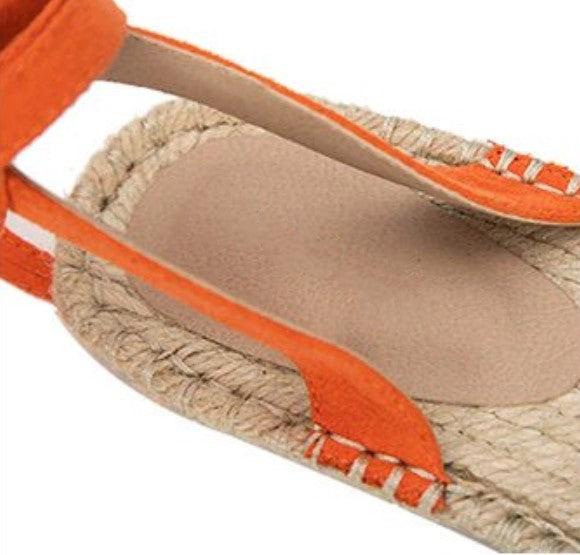 Women's Summer Roman Cross-Strap Flat Sandals | Ladies Espadrilles