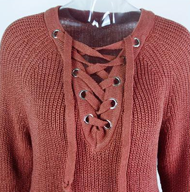 Sweater – Female Sweater With Lace | Zorket