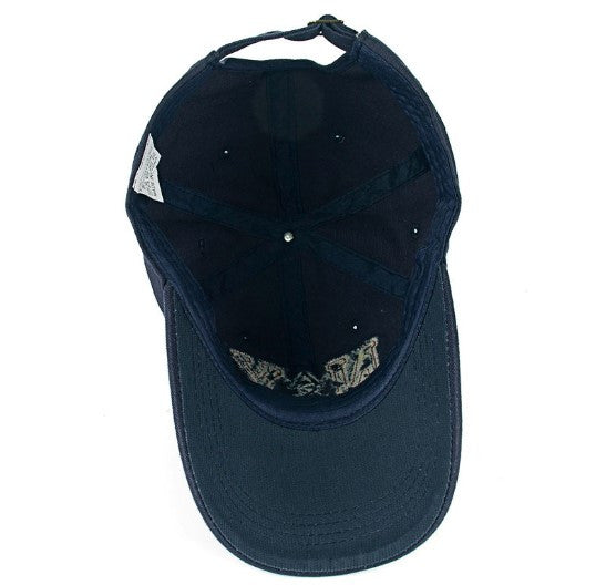 Cotton Baseball Cap With NY Embroidery For Men - Zorket