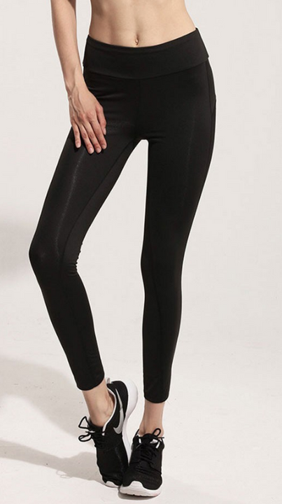 Women's Casual Black Leggings