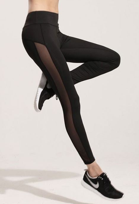 Women's Casual Black Leggings - Zorket