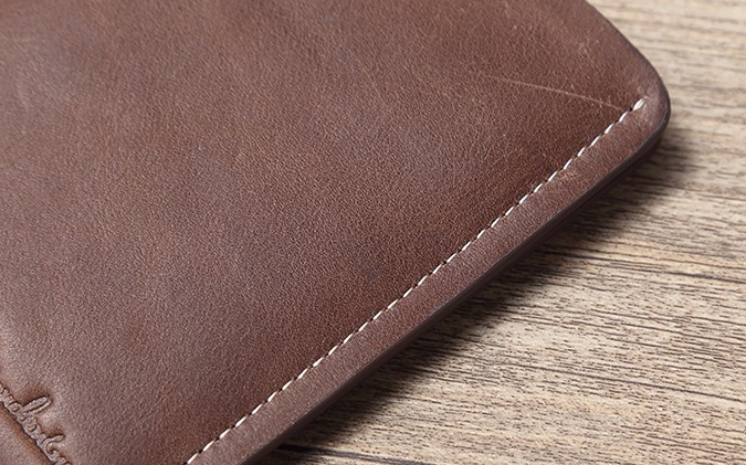 Ultra-Thin Short Leather Wallet For Men - Zorket
