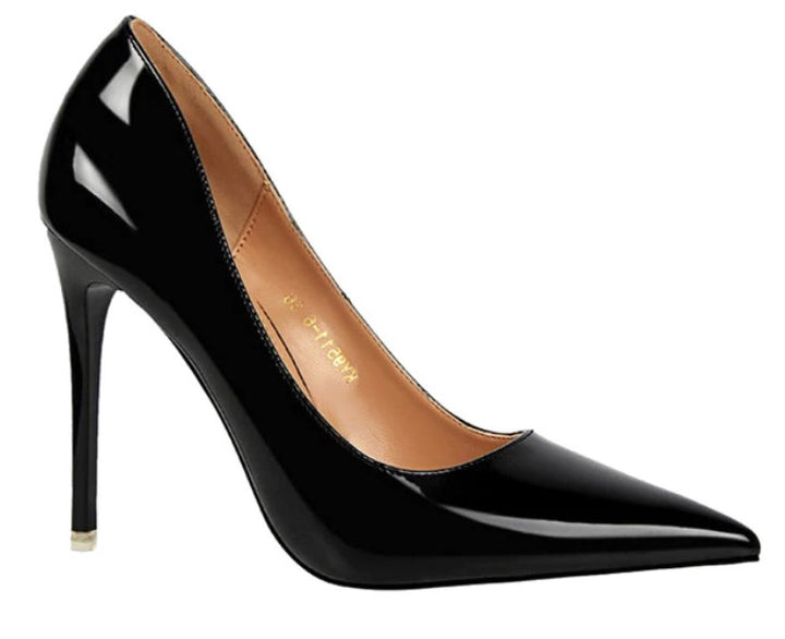 Women's Spring/Autumn PU High-Heeled Basic Pumps