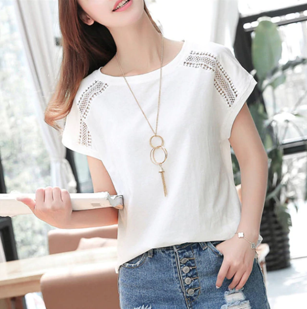 Women's Summer Short Sleeve Cotton T-Shirts