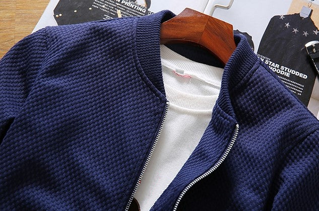 Men's Autumn Casual Baseball Bomber