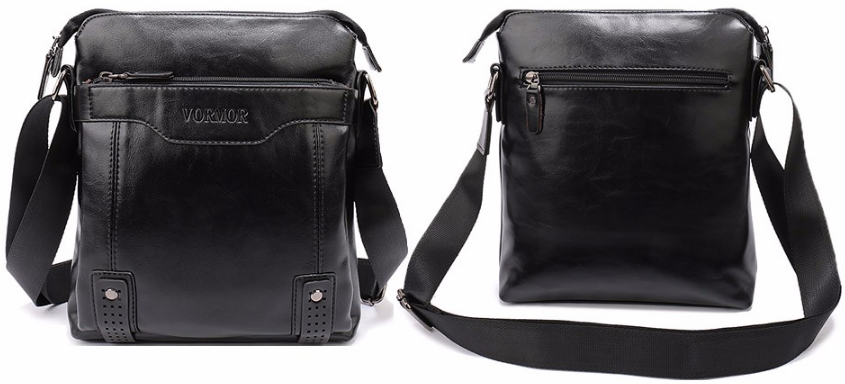 Crossbody Bag – Fashionable PU Leather Men's Messenger Bag | Zorket