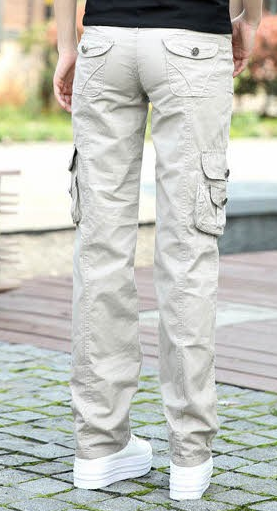 Pants – Female Stylish Cargo Camouflage Pants | Zorket