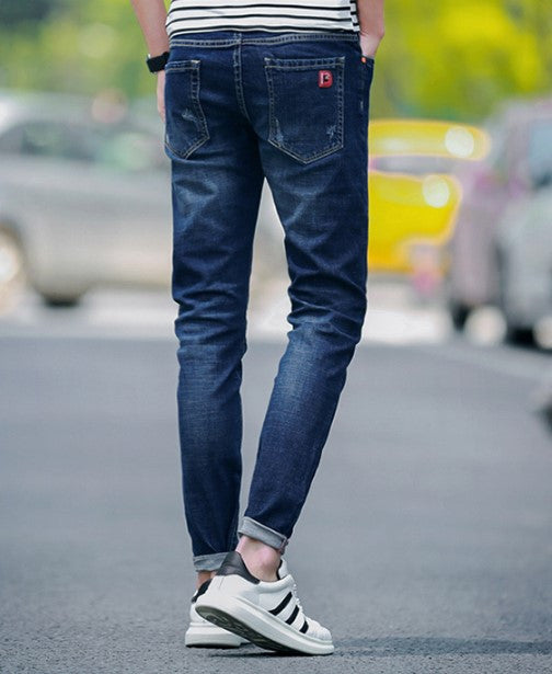 Jeans – Men's High Quality Business Casual Straight Denim Jeans | Zorket