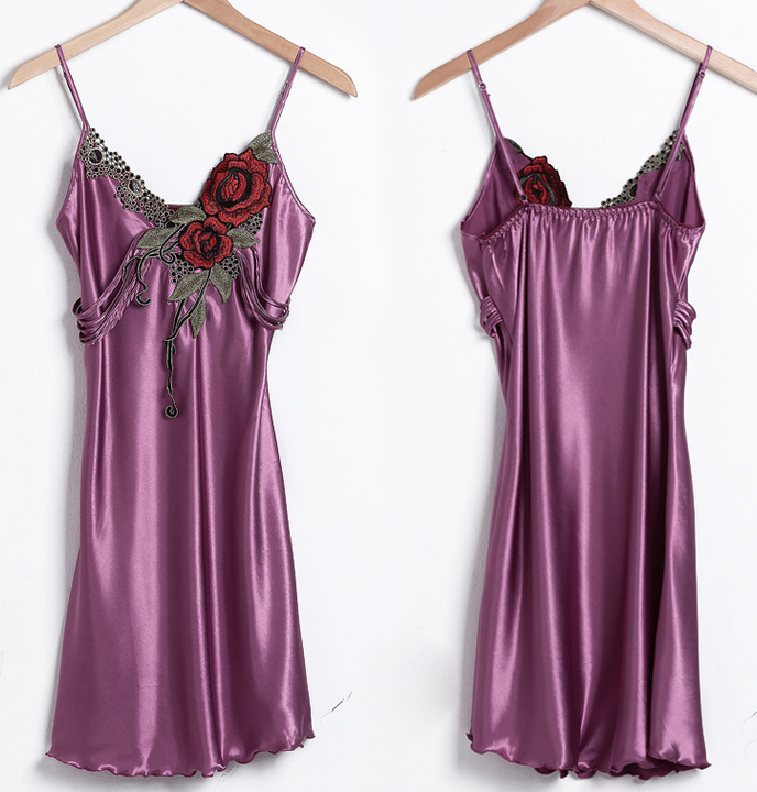 Women's Solid Color Nightgown - Zorket