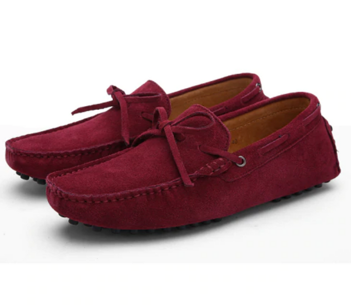Men's Summer/Spring Breathable Leather Driving Loafers