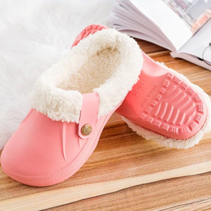 Women's Winter Warm Fur Home Slippers