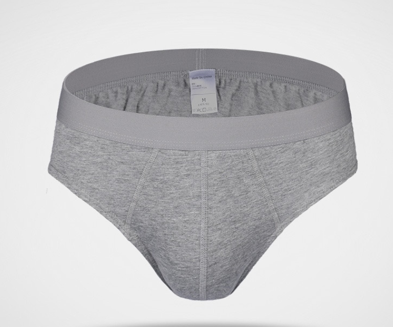 Men's Cotton Solid Briefs