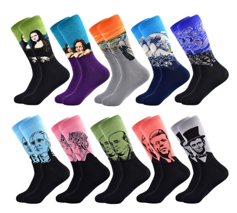 Men's Autumn/Winter Long Cotton Socks