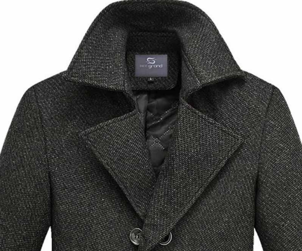 Men's Fashion Thick Double Breasted Winter Coat - Zorket