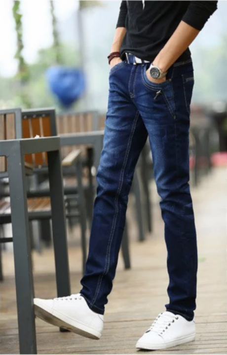 Men's Casual Stretchy Skinny Jeans
