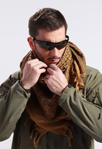 Scarf – 100% Cotton Men's Windproof Arabic Scarf | Zorket