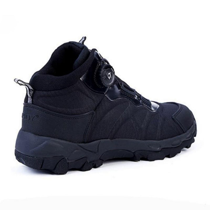 Men's Winter Leather Military Ankle Boots