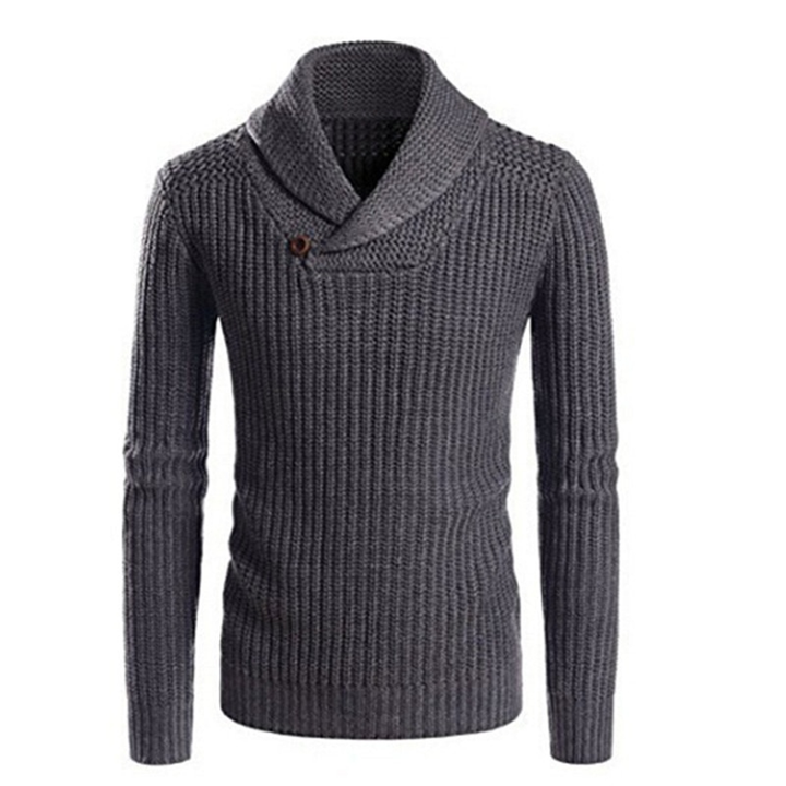 Men's Winter Casual Warm Knitted Sweater